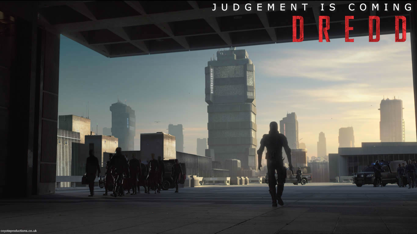 Coyote Productions Wallpapers Dredd